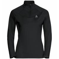 Pull ½ zip Essential Ceramiwarm, black, large