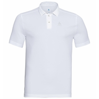 Men's PETER Polo Shirt, white, large