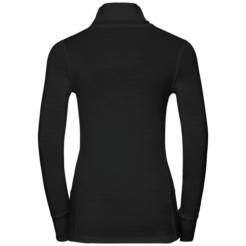 design de qualité 05dfe 58013 T-shirt baselayer à col roulé 100 % laine mérinos naturelle Warm femme