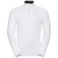 Midlayer 1/2 zip CARVE Warm, white, large