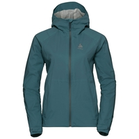 Women's AEGIS Hardshell Jacket, atlantic deep, large