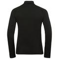 Midlayer 1/2 zip GLADE, black, large