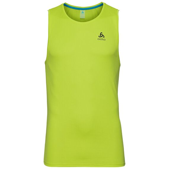 SUW TOP Crew neck Singlet ACTIVE F-DRY LIGHT, acid lime, large