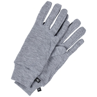 ORIGINALS WARM Gloves, grey melange, large