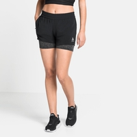 Damen MILLENNIUM PRO 2-in-1 Shorts, black, large
