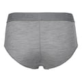 Panty NATURAL 100% MERINO WARM, grey melange - black, large