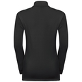 CARVE KIDS WARM 1/2 Zip Midlayer, black, large