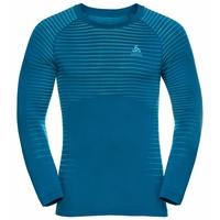 Men's PERFORMANCE LIGHT Long-Sleeve Base Layer Top, mykonos blue - horizon blue, large