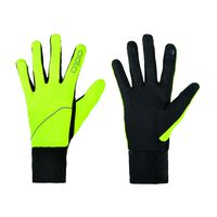 Gloves INTENSITY SAFETY, safety yellow, large