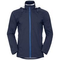 Men's WATERTON STRETCH Hardshell Jacket, diving navy, large