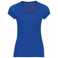Women's ACTIVE F-DRY LIGHT Baselayer T-Shirt, blue tattoo, large