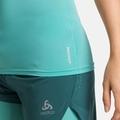 ACTIVE SPINE 2.0-hardloop-T-shirt voor dames, jaded, large