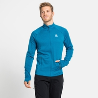 Men's PROITA Full-Zip Midlayer Top, mykonos blue, large