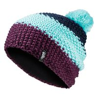 Hat CHUNKY KNIT, peacoat - blue radiance - pickled beet, large