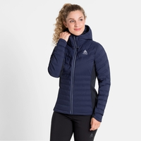 Damen SARA COCOON Daunenjacke, diving navy, large