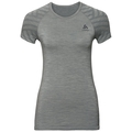 BL TOP KINSHIP SEAMLESS, grey melange, large