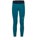 Tights 7/8 OMNIUS, crystal teal - pool green, large