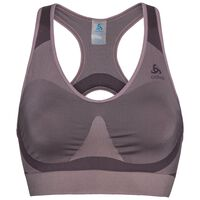 SEAMLESS HIGH Sport-BH, quail - plum perfect, large