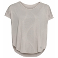 Women's MAHA T-shirt, silver cloud - AOP SS20, large