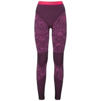 Pants Blackcomb EVOLUTION WARM, black - pink glo, large