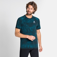 Tee-shirt BLACKCOMB PRO pour homme, tumultuous sea - submerged, large