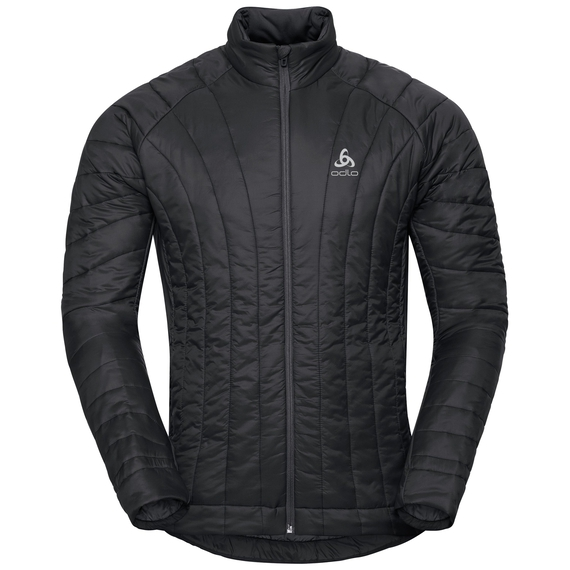 Jacket insulated FLOW COCOON ZW, black, large