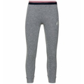 Set ACTIVE WARM KIDS Heritage, grey melange - placed print FW19, large