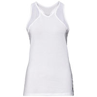 BL TOP Singlet LOU MESH, white, large