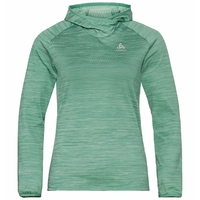 Damen MILLENNIUM ELEMENT Midlayer Hoody, malachite green melange, large