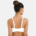 Padded High Sports Bra, white, large