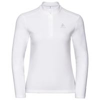 Women's ORSINO 1/2 Zip Midlayer, white, large