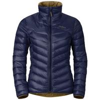 Gevoerde COCOON N-THERMIC WARM-jas voor dames, peacoat, large