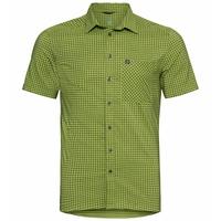 Men's NIKKO Short-Sleeve Shirt, macaw green - climbing ivy, large
