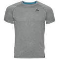 BL TOP Crew neck s/s AION Plain, grey melange, large