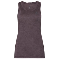 Damen NATURAL + LIGHT Baselayer Tanktop, plum perfect - quail, large
