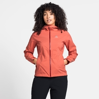 Women's AEGIS 2.5L WATERPROOF Hardshell Jacket, burnt sienna, large