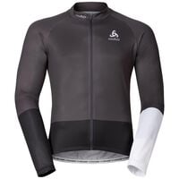 Stand-up collar l/s full zip TELEGRAPHE, odlo graphite grey - black, large