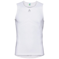 Men's PERFORMANCE BREATHE X-LIGHT Cycling Base Layer Singlet, white, large