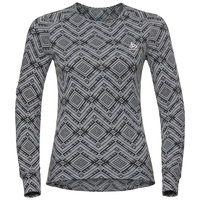 SUW top girocollo m/l active Warm Kinship, grey melange, large