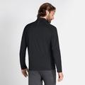 Pull à manches longues et col zippé CERAMIWARM ELEMENT pour homme, black, large