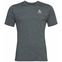 Men's RUN EASY 365 T-shirt, grey melange, large