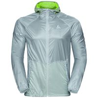 Jacket ZEROWEIGHT, silver - acid lime, large