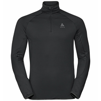 Men's CARVE LIGHT 1/2 Zip Midlayer, black, large