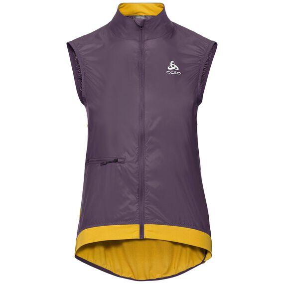 Vest FUJIN, vintage violet - sulphur, large