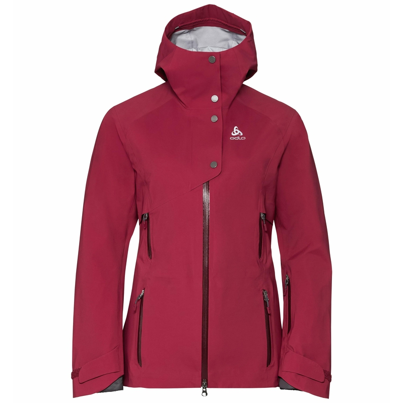 Jacket 3in1 ORBIT, rumba red, large