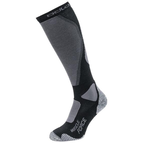 Chaussettes longues MUSCLE FORCE CERAMIWARM WARM PRO, black - odlo graphite grey, large