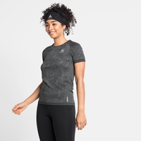 T-shirt BLACKCOMB PRO da donna, black melange, large