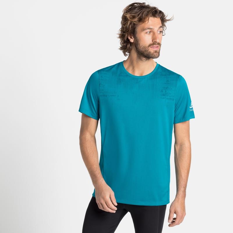 Men's ELEMENT Light PRINT T-Shirt, tumultuous sea - graphic FW20, large