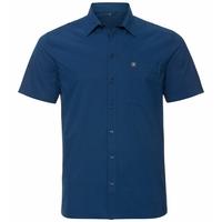Men's ANTON Short-Sleeve Shirt, estate blue, large