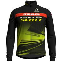 Stand-up collar l/s full zip SCOTT SRAM RACING, Scott SS19, large